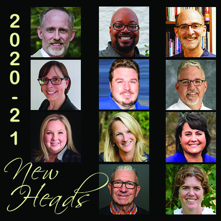 A Special Friends Council Welcome to New Heads of Schools 2020-2021